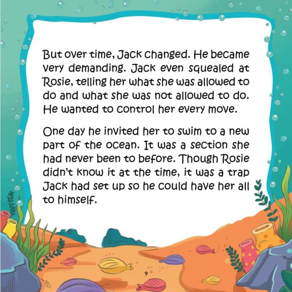 Rosie the Little Fish That Got Away - page 9