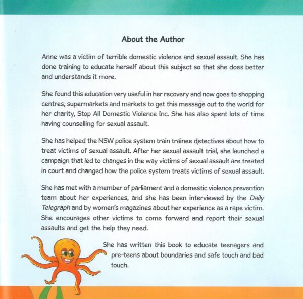 An Octopus Who Was Too Touchy Feely - About the Author