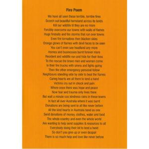 Fire Poem